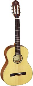 Kontertgitarre kaufen - Ortega 121 Weinrot