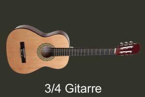 Die beste 3/4 Gitarre