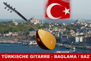 Türkische Gitarre - Baglama | Saz