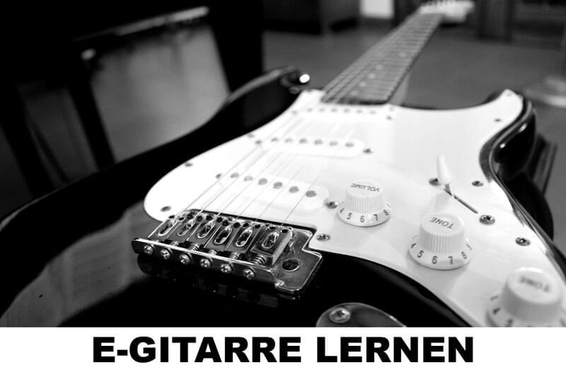 E-Gitarre lernen für Anfänger