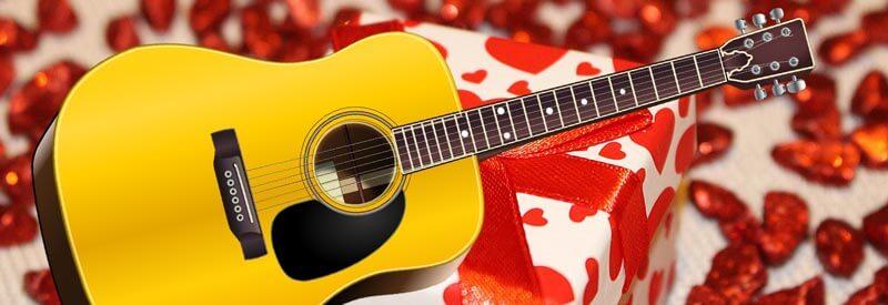 Gitarre als Geschenk