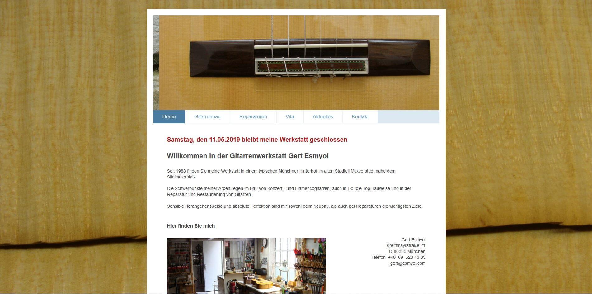 Gitarrenladen München Esmyol