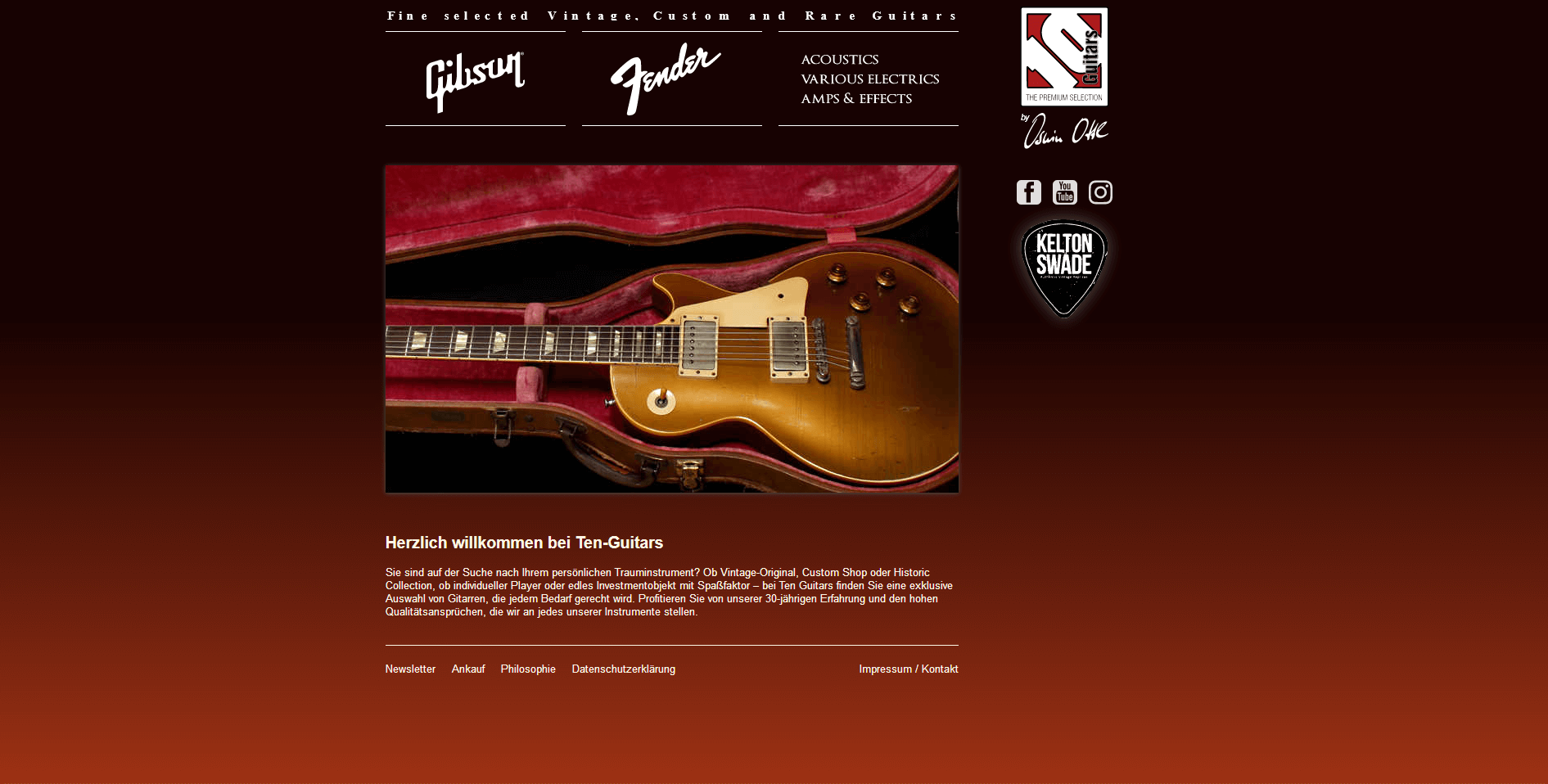 Gitarrenladen München Ten Guitars