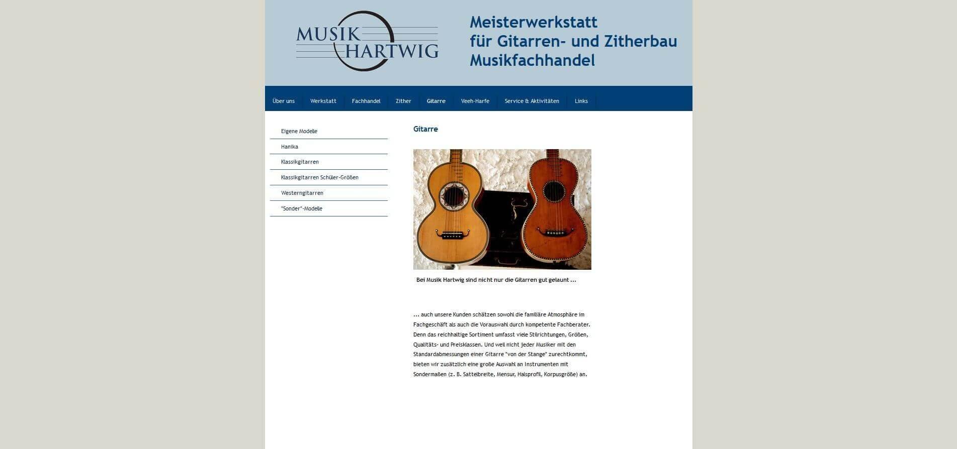 Gitarrenladen München Musik Hartwig