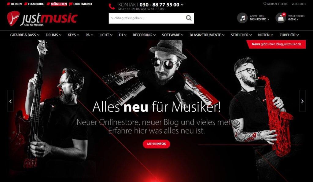 Gitarrenladen München - JustMusic