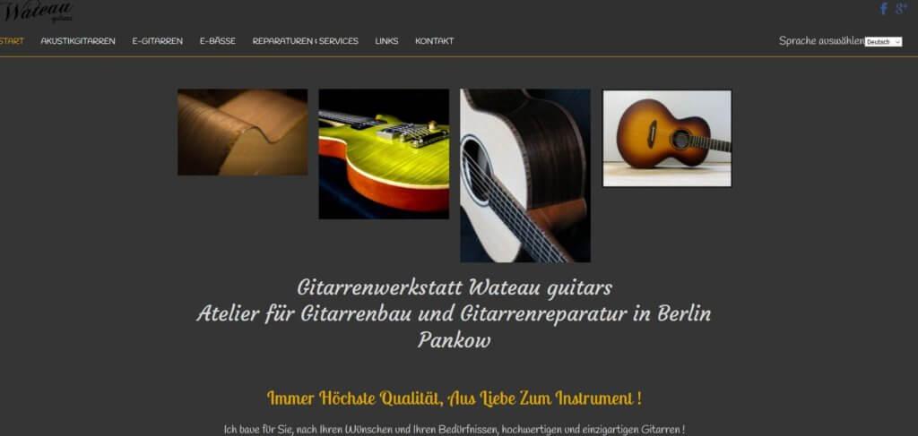 Gitarre Kaufen Berlin Waterausguitar Gitarrenladen