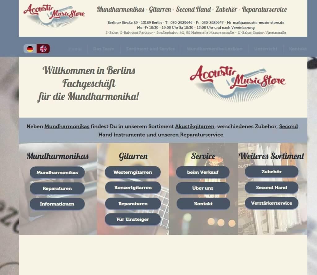 Gitarre kaufen Berlin acousic store Gitarrenalden