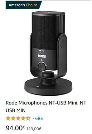 Rode NT-USB Mini Mikrofon