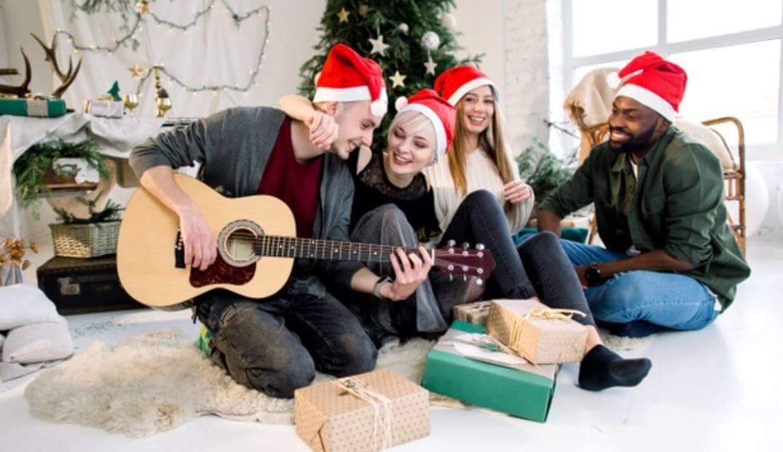 Weihnachten mit Gitarre